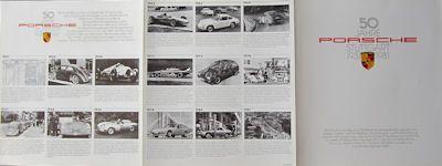 Porsche 50 Jahre Prospekt 1981 0