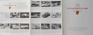 Porsche 50 Jahre Prospekt 1981