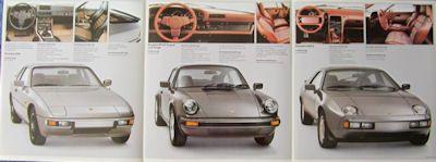 Porsche 50 Jahre Prospekt 1981 1