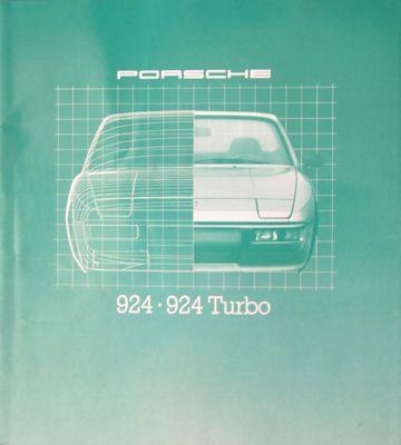 Porsche 924 924 Turbo Prospekt 1980 0