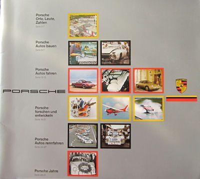 Porsche Entwicklung Prospekt 1985 0