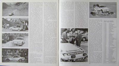 Porsche 924 Testfahrten Prospekt 1977 1