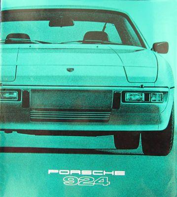 Porsche 924 Prospekt 1979 0