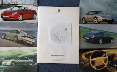 Porsche Pressemappe Genf 1999 0