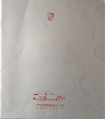 Porsche 911 Exclusive Prospekt 10.1986 0