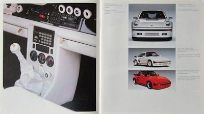 Porsche 911 Exclusive Prospekt 10.1986 1