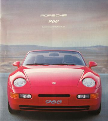 Porsche 968 Test 10.1991