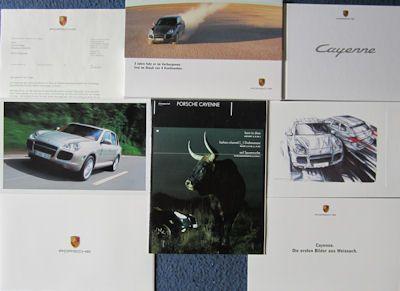 Porsche Cayenne Prospekt 9.2002