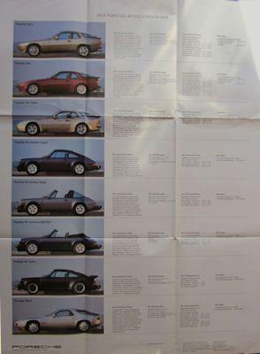 Porsche Programm 8.1985 1