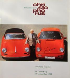 Porsche Christophorus Sonderausgabe 9.1989