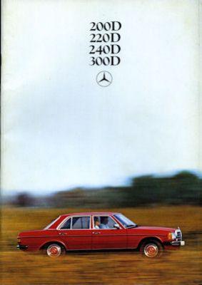 Mercedes-Benz 200-300 D Prospekt 1979 0