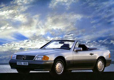 Mercedes-Benz SL Prospekt 1990 1