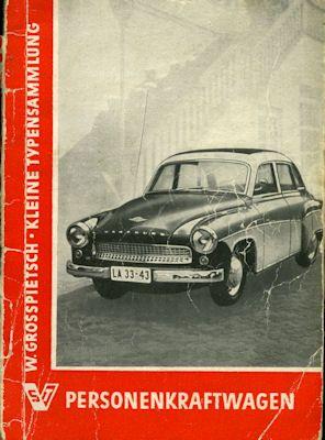 Personenwagen Katalog DDR 1960