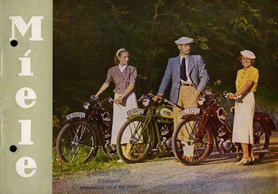miele motorfahrrad prospekt nr miele1690 oldthing motorrad firmen k o. Black Bedroom Furniture Sets. Home Design Ideas