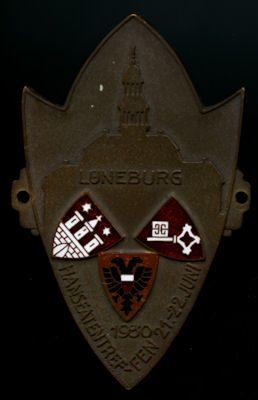 Plakette Lüneburg 1930 0