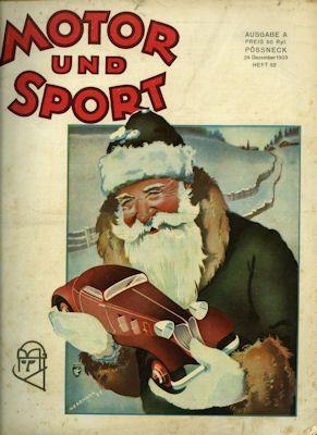 Motor & Sport 1933 Heft 52 0