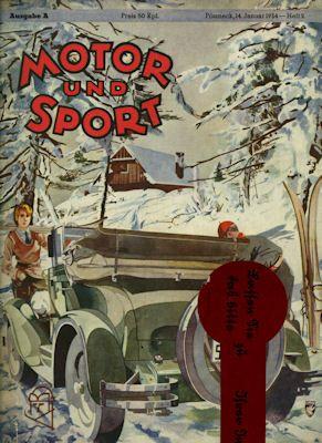 Motor & Sport 1934 Heft 2 0