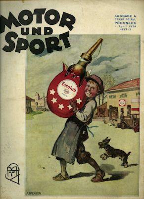 Motor & Sport 1934 Heft 13 0