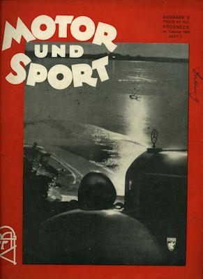 Motor & Sport 1934 Heft 7 0