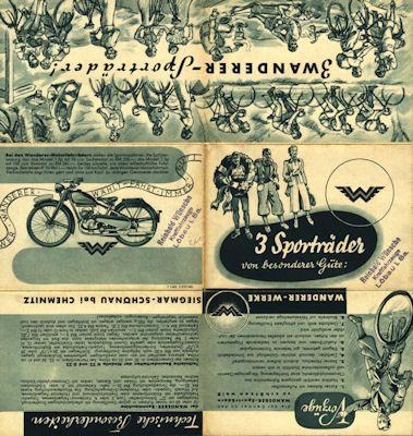 Wanderer Fahrrad Prospekt 12.1937 1