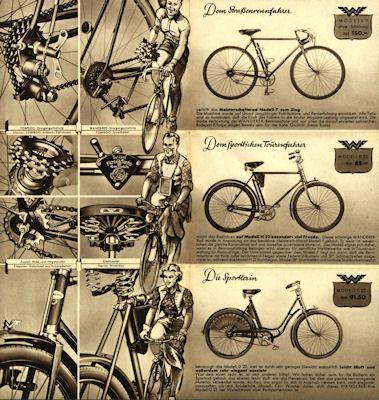 Wanderer Fahrrad Prospekt 12.1937 2