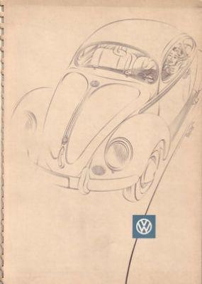 VW Käfer Prospekt 1953 0