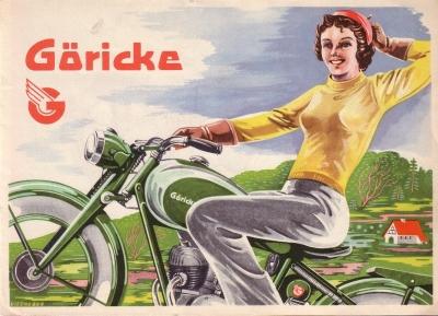 Göricke Programm ca. 1950 0
