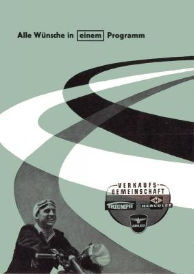Triumph Programm 1957 0