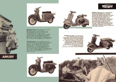 Triumph Programm 1957 1