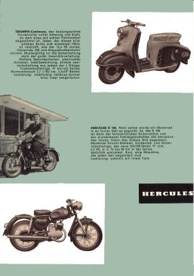 Triumph Programm 1957 2