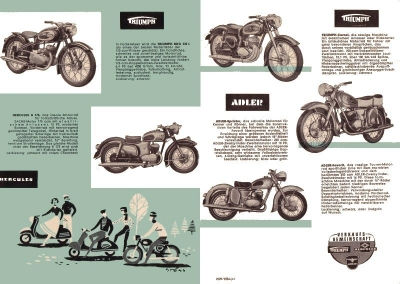 Triumph Programm 1957 3