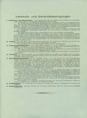 Hecker H I 175 Prospekt ca. 1928 1