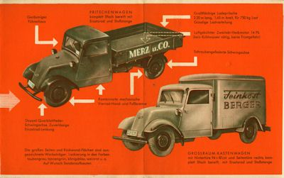 Gutbrod Heck 504 Prospekt 1949 1