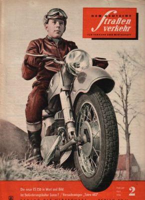 Der Deutsche Straßenverkehr 1956-1959 0