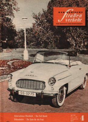 Der Deutsche Straßenverkehr 1956-1959 2