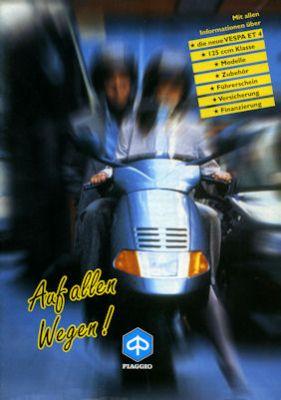 Vespa Programm 1997 0