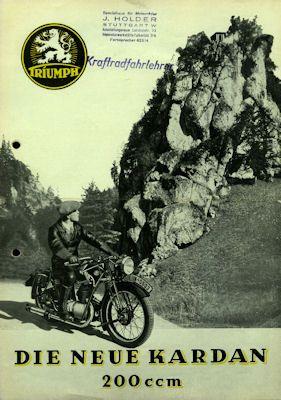 Triumph 200 K Prospekt 1935 0