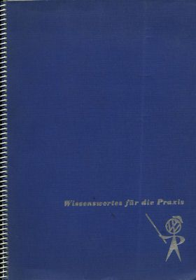 VW Broschüre zur Instandsetzungs-Lehrgang 1962