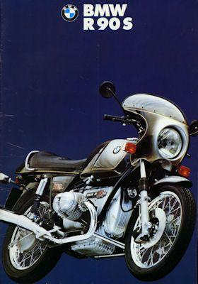 BMW R 90 S Prospekt 1974 0