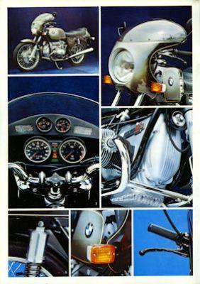 BMW R 90 S Prospekt 1974 1