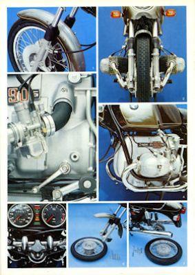 BMW R 90 S Prospekt 1974 2