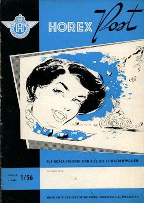 Horex Hauspost 1956 Heft 1