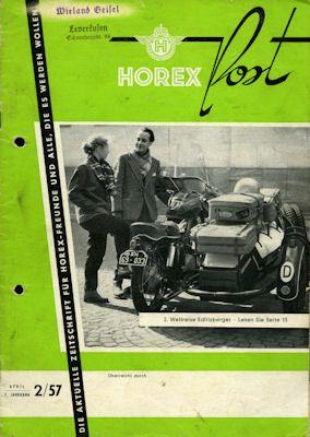 Horex Hauspost 1957 Heft 2