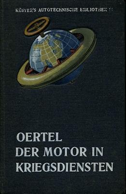 Küster `s Autotechnische Bibliothek Bd.31 Der Motor in Kriegsdiensten 0