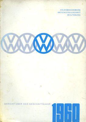 VW Bericht über das Geschäftsjahr 1960 0