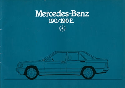 Mercedes-Benz 190 190E Prospekt 1984 0