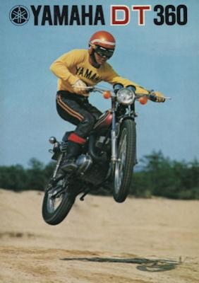 Yamaha DT 360 Prospekt 1974 0