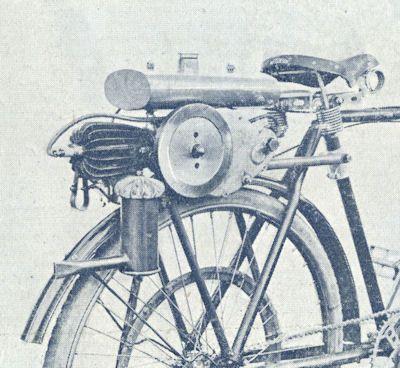Cyclone moteur bicyclette Prospekt 1920er Jahre 2