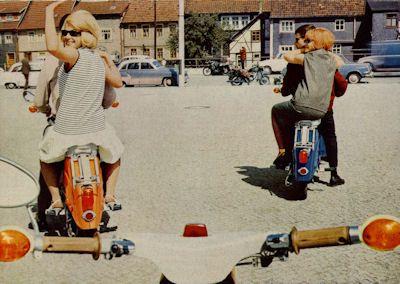 Simson Kleinroller Schwalbe 3,4 PS Prospekt 1966 3