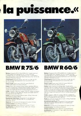 BMW Programm 1974 f 1